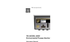 6500 Environmental Process Monitor Operations Manual