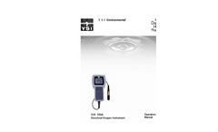 550A Dissolved Oxygen Instrument Operations Manual