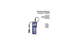 DO200 Field/Lab Dissolved Oxygen and Temperature Instrument Operations Manual