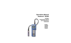 EC300 Portable Conductivity, Salinity and Temperature Instrument Operations Manual