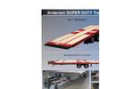 Andersen - Model Tilt Series - Super Duty Trailers - Brochure