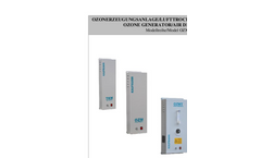 Model OZMT - Vacuum Type Air Fed Ozone Generators Brochure