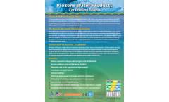 Prozone - Cooling Towers Brochure