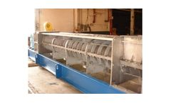 Dewatering applications for screw presses in pulp and paper mills