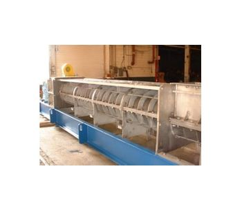 Dewatering applications for screw presses in pulp and paper mills - Water and Wastewater