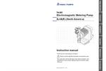 Walchem - Model EJ Series - Metering Pumps - Manual