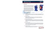 Walchem - Model EZ Series - Electronic Metering Pumps - Brochure