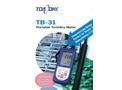 Model TB-31 - Portable Turbidity Meter - Brochure