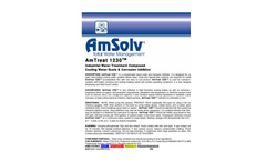 AmTreat - Model 1230 - Cooling Water Scale & Corrosion Inhibitor Brochure