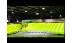 Water Gate tested by the US Army Corps of Engineers - Video