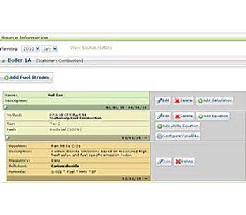 regAction webCO2Plus - GHG Emissions Management System