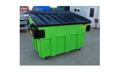 Poly Dura Kan - Front Load Plastic Waste Container