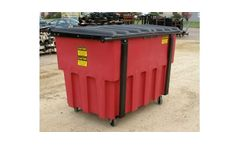 Poly Dura Kan - Rear Load Plastic Waste Containers