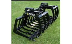 Notch - Model CRB4/CRB6 - Grapple Root Bucket