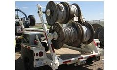 Larson Cable Trailers for Power Industry