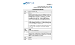 Hydrology & Hydraulics Software- Brochure