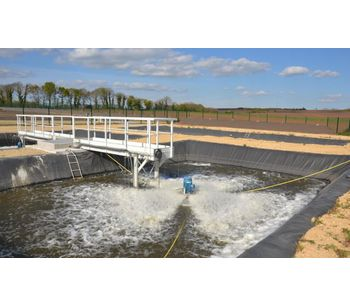 Wastewater treatment ponds - Water and Wastewater
