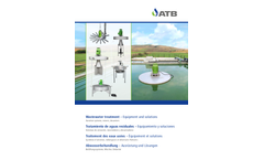 Wastewater Treatment – Equipment and Solutions - Brochure