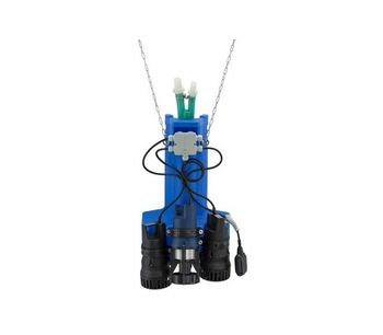 AQUAmax - Model Classic 1-16 / 15 m 1-16 Z with 15 m Cable - Small Sewage Treatment Plant