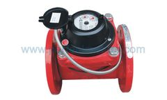 JIANGBEI - Removable Horizontal Hot Dry Type Woltman Water Meter with Pulse Output
