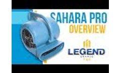 Dri-Eaz Sahara Pro X3 TurboDryer - Video