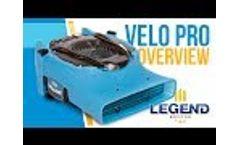 Dri-Eaz Velo Pro Airmover - Video