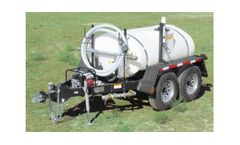 Wylie - Model 500gal Expre - Water Trailer