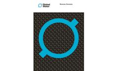 Global Water - Model MemX - Membrane Filtration Systems Brochure
