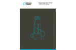 Global Water - Model GPD & GPV Series - Submersible Pumps Brochure