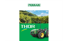 Ferrari Thor Tractor Specifications Sheet