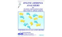 Online Ammonia Analyzers for Water and Wastewater Treatment Applications   Performance Evaluation Report