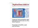 SafeWater - Model HydroClenz 3000 Inline™ - Water System - Brochure