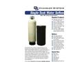 Single-Tank Water Softeners Brochure