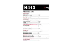 Waratah - Model H413 - Harvester Head - Brochure