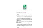 Ultra-Hydrokleen - Advanced Catch Basin Filter - Installation Instructions Manual