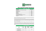 UltraTech - Dewatering Bags - Technical Specifications