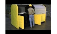 Outdoor Spill Containment - Ultra-Hard Top P8 Video