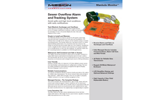 Manhole Monitor - Sewer Overflow Alarm and Tracking System - Brochure