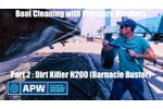 Best Boat Hull Cleaner : Boat Pressure Washer Review : Part 2 - Video