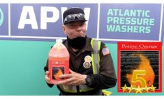 Best Odor Deodorizer and Degreaser - Potion Orange Review - Video