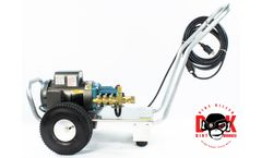 Dirt Monkee - Model 110V 20 AMP - Electric Cold Water Cat Pump - 185°F Water Seals