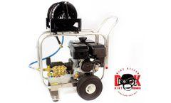 Dirt Monkee - Model 15hp Power Ease EZ 4040g - Pump 4gpm 4000 psi Rollover Frame Hose Reel