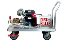 The Beast Dirt Monkee - Model 5.5 GPM @ 5000 PSI with Honda GX690 - Cold Water Pressure Washer