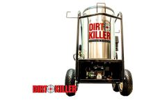 Dirt Killer - Model 2700 PSI 5.3 GPM - Fahrenheit 15 Hot Water Pressure Washer