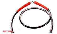 Dirt Killer - Model 10 FT - High Pressure Whip Line With 3/8 Inch MNPT Swivel Crimps