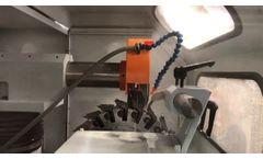 Newman G-716a Fully Automatic Cutterhead Grinder - Video