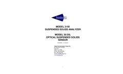 1                        MODEL 3150  SUSPENDED SOLIDS ANALYZER      MODEL 35/35L  OPTICAL SUSPENDED SOLIDS   SENSOR     REVISION – 17 Oct 2014
