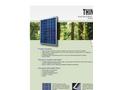 Think - Model 240 - Polycrystalline Photovoltaic Module Brochure