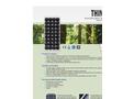 Think - Model 135 - Monocrystalline Photovoltaic Module Brochure