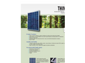 Think - Model 280 - Polycrystalline Photovoltaic Module Brochure